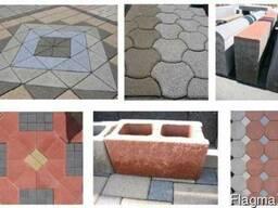 Блок машина для производства тротуарной плитки, бордюров R300 - фото 4