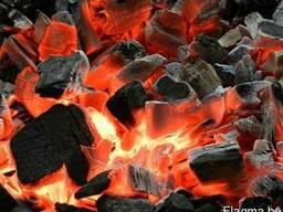 Древесный уголь, фасовка в бумажные мешки 2-10 кг