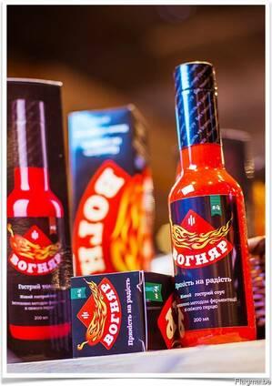 """Hot pepper sauces """"Vognyar"""""""
