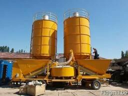 Мобильный бетонный завод LT 1800 (60 м3/час) Швеция