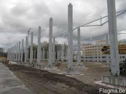 Оборудование для производства бетонных колонн большой длины. - фото 2