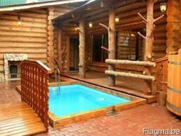 Производим деревянные бани, дома из дерева. - фото 2