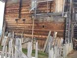 Амбарной древесины старого дерева сосна - photo 3