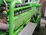 Б/У газовый двигатель Jenbacher 616 GS 02, 1942 Квт, 1999 г. - фото 4