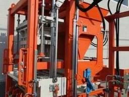 Блок машина для производства тротуарной плитки, бордюров R300 - фото 2