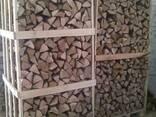 Chopped firewood, oak, ash (natural moisture) - photo 1