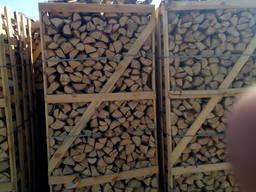 Дрова колотые камерной сушки - фото 2