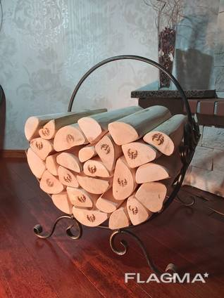 Firewood for the fireplace exclusive sele DrovaFENIX birch