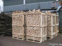Le producteur de bois de chauffage. Колотые дрова дуб, граб.