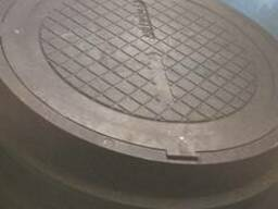 Люки канализационные полимерпесчаные
