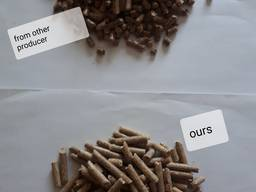 Pine pellets EnPlus A1, 6mm direct from producer. - photo 2