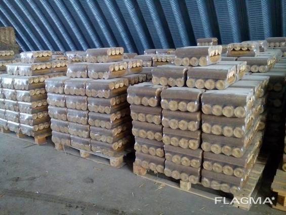 Продам топливные Брикеты Нестро (сосна) / Sell fuel briquettes Nestro (pine tree) Укр