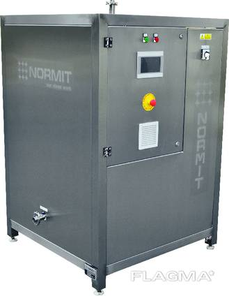 Tempering machine for chocolate
