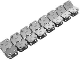 U45 Rivet Hinged Conveyor belt Fasteners for 7-11 mm belts - photo 2