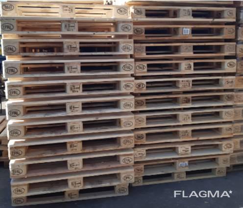 Used EPAL Euro pallet