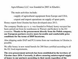 Wholesale honey from Ukraine - фото 2